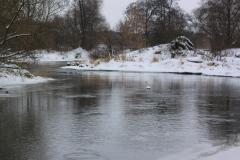 Rzeka Wkra w Bolęcinie