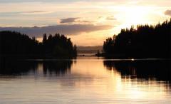 Jezioro Næra w Norwegii